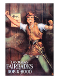Robin Hood, Douglas Fairbanks, Sr., 1922 Prints