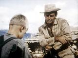 Shane, Brandon De Wilde, Alan Ladd, 1953 - Afiş