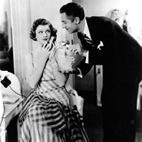 The Thin Man, Myrna Loy, William Powell, 1934 Juliste