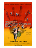 Invasion Of The Body Snatchers, Kevin McCarthy, Dana Wynter, 1956 Affiche