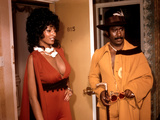Coffy, Pam Grier, Robert Doqui, 1973 Photographie
