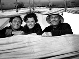 Captains Courageous, Spencer Tracy, Freddie Bartholomew, Lionel Barrymore, 1937 Photo