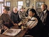 Ryan's Daughter, Barry Jackson, Trevor Howard, Leo McKern, Robert Mitchum, 1970 Photo