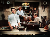 The Rainmaker, Katharine Hepburn, Cameron Prud'Homme, Earl Holliman, Lloyd Bridges, 1956 Prints