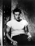 Vlak do stanice Touha, Marlon Brando, 1951 Fotografie