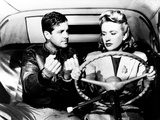 Saboteur, Robert Cummings, Priscilla Lane, 1942 Photo