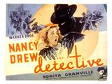 Nancy Drew - Detective, Bonita Granville, 1938 Plakater