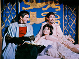 Becket, Richard Burton, Veronique Vendell, Peter O'Toole, 1964 Photo