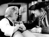 Treasure Island, Jackie Cooper, Lionel Barrymore, 1934 Photo