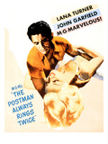 The Postman Always Rings Twice, John Garfield, Lana Turner, 1946 Posters