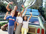 National Lampoon's Vacation, Anthony Michael Hall, Chevy Chase, Beverly D'Angelo, Dana Barron, 1983 Photo