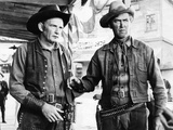 Winchester '73, Millard Mitchell, James Stewart, 1950 Photo