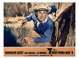 Seven Men From Now, Randolph Scott, 1956 Posters