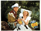 Roll On Texas Moon, Roy Rogers, Dale Evans, 1946 Photo