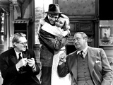 You Can't Take It With You, Lionel Barrymore, James Stewart, Jean Arthur, Edward Arnold, 1938 Photo