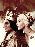 Richard III, Sir Laurence Olivier, Claire Bloom, 1956 Photo