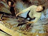 Poseidon Adventure, Ernest Borgnine, Gene Hackman, 1972 Photo