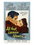 All That Heaven Allows, Rock Hudson, Jane Wyman, 1955 Affiche