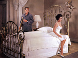 Cat On A Hot Tin Roof, Paul Newman, Elizabeth Taylor, 1958 Print