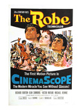 The Robe, Richard Burton, Jean Simmons, Victor Mature, 1953 Plakat