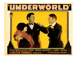 Underworld, Evelyn Brent, George Bancroft, Clive Brook, 1927 Photo