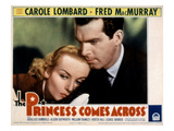 The Princess Comes Across, Carole Lombard, Fred MacMurray, 1936 Posters