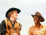 Blazing Saddles, Gene Wilder, Cleavon Little, 1974 - Resim