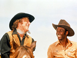 Blazing Saddles, Gene Wilder, Cleavon Little, 1974 Print