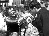 Zorba The Greek, Lila Kedrova, Alan Bates, 1964 Photo