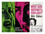 What Ever Happened To Baby Jane, Bette Davis, Joan Crawford, 1962 Print