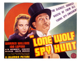 The Lone Wolf Spy Hunt, Ida Lupino, Warren William, 1939 Print