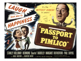 Passport To Pimlico, Barbara Murray, Paul Dupuis, Stanley Holloway, 1949 Affiches