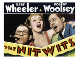The Nitwits, Robert Woolsey, Betty Grable, Bert Wheeler, 1935 Photo
