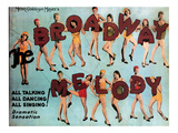 The Broadway Melody, 1929 Posters
