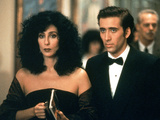 Moonstruck, Cher, Nicolas Cage, 1987 Photo
