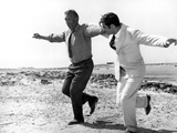 Zorba The Greek, Anthony Quinn, Alan Bates, 1964, Greek Dance Photo