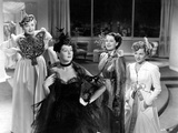 The Women, Hedda Hopper, Rosalind Russell, Norma Shearer, Joan Fontaine, 1939 Prints