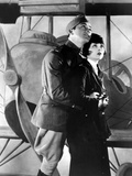 Wings, Charles 'Buddy' Rogers, Clara Bow, 1927 Photo