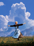The Sound Of Music, Julie Andrews, 1965 Kunstdrucke