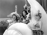 Ziegfeld Girl, Judy Garland, Hedy Lamarr, Lana Turner, 1941 Print