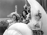 Ziegfeld Girl, Judy Garland, Hedy Lamarr, Lana Turner, 1941 Print