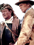 The Alamo, John Wayne, Richard Widmark, 1960 Photo