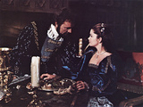 Anne Of The Thousand Days, Richard Burton, Genevieve Bujold, 1969 Photo