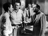 Twelve Angry Men, Jack Klugman, Edward Binns, Henry Fonda, Ed Begley, E.G. Marshall, 1957 Photo