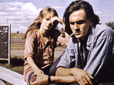 Two-Lane Blacktop, Laurie Bird, James Taylor, 1971 Photo