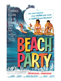Beach Party, Annette Funicello, Frankie Avalon, 1963 Poster