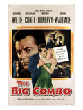 The Big Combo, Cornel Wilde, Richard Conte, Jean Wallace, 1955 Affiches