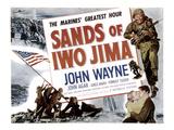 Sands Of Iwo Jima, John Wayne, 1949 Obrazy