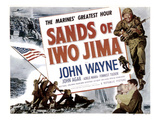 Sands Of Iwo Jima, John Wayne, 1949 Prints