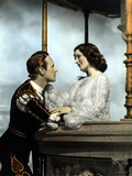 Romeo And Juliet, Leslie Howard, Norma Shearer, 1936, Balcony Scene Print